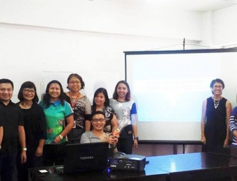 Innovation Management class immersion with Ms. Tessa Sevilla of My Shelter Foundation