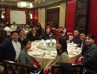 Round table discussion with Pericles Lewis, founding president of Yale-NUS College Singapore (Mabuhay Palace, Manila Hotel)