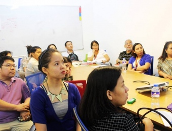 Start-up seminar and immersion at technology incubator IdeaSpace (Makati City)