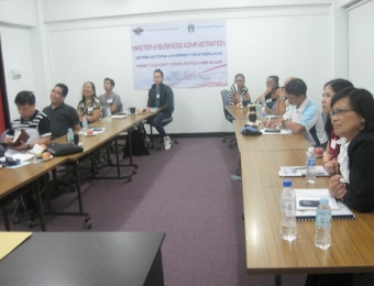 VU MBA Cohort 1 Course Seminars